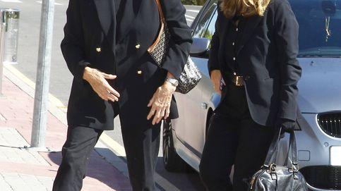 Xandra Falcó: último adiós a su marido, Jaime Carvajal, arropada por familiares y amigos