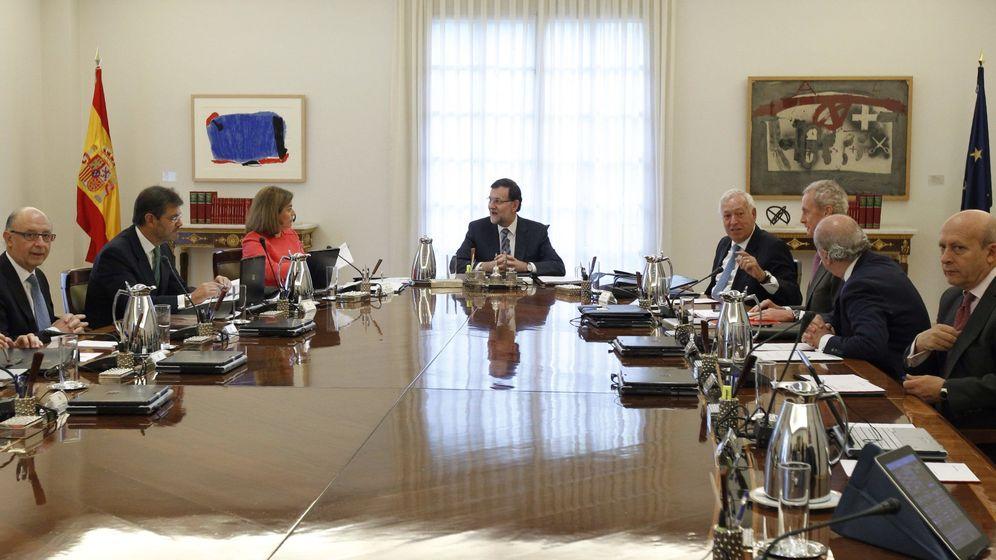 Independencia de catalu a arranca el consejo de ministros for Ministros de espana