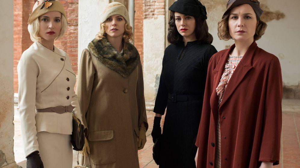 Foto: 'Las chicas del cable' y sus fantásticos looks inpirados en la moda de los felices años 20. (Cortesía)