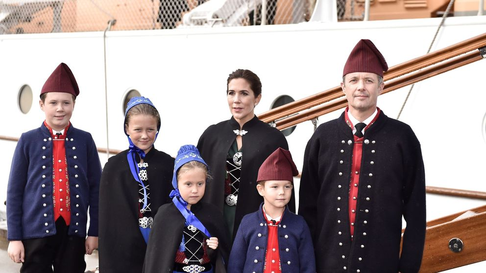 ¿Es esta la foto más tierna de los príncipes daneses?