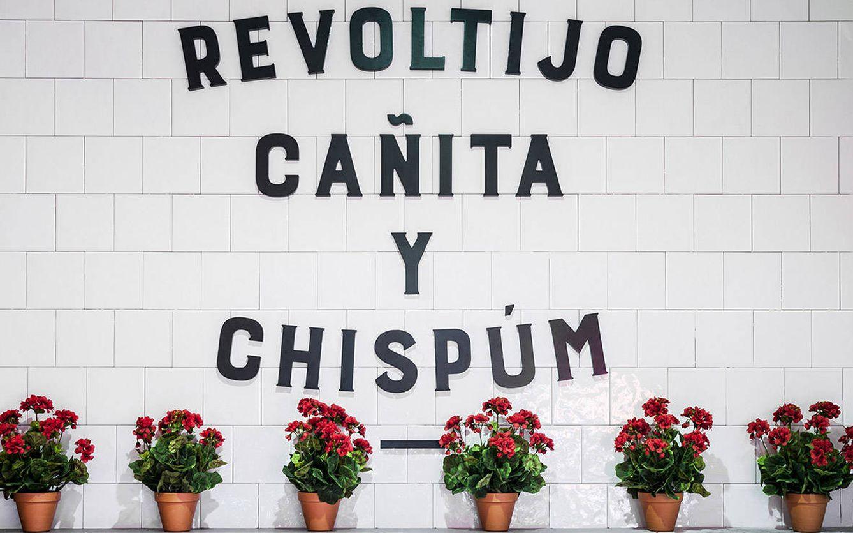 Foto: El lema de la Chispería. Chimpún
