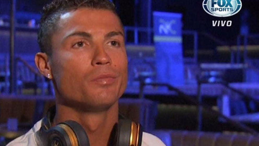 Cristiano Ronaldo explota y se marcha a mitad de una entrevista para la TV
