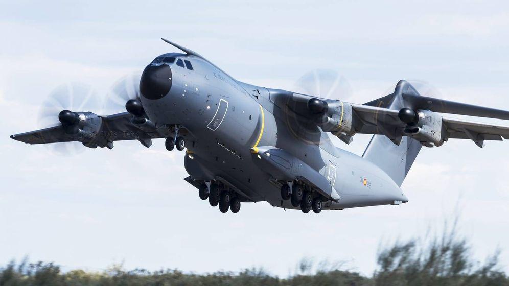 Foto: A400M enviado a China. (Ejército del Aire)