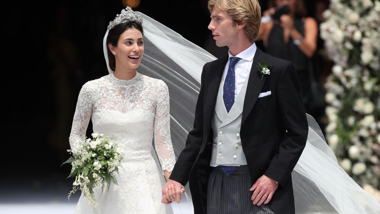 La boda de Christian y Sassa de Osma. (EFE)
