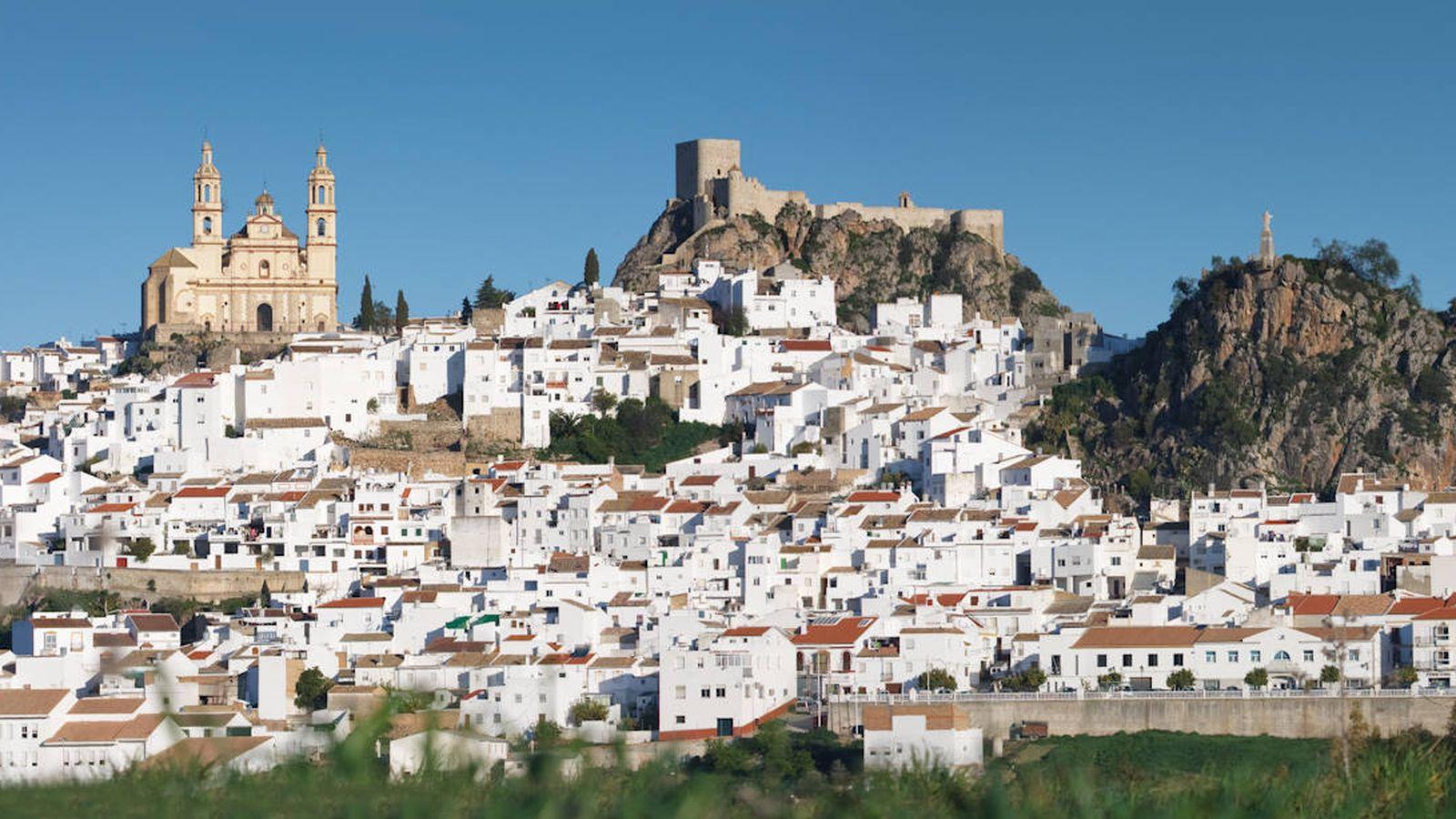Foto: Olvera es blanco y monumental. (Cortesía Turismo Olvera)