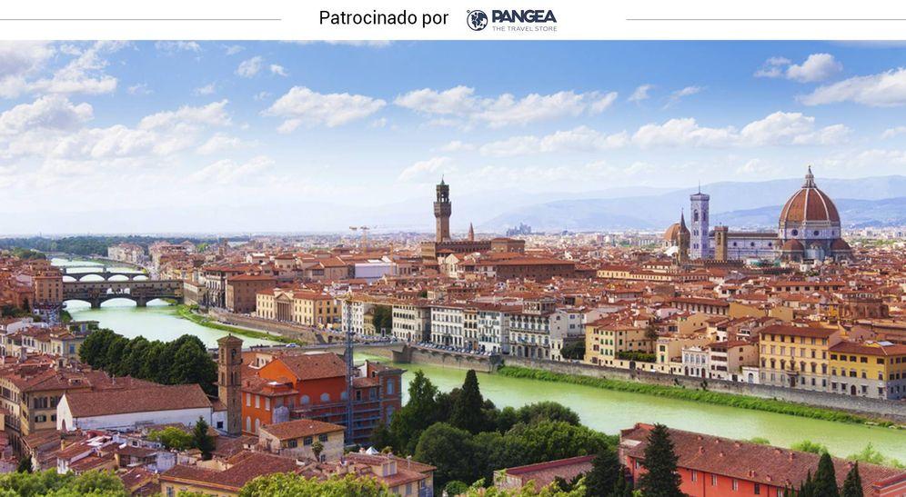 Foto: Florencia y su río Arno (iStock)