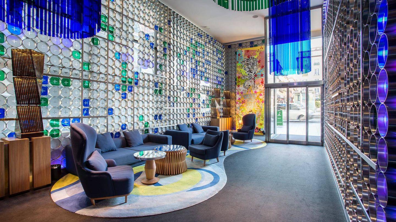El hotel Óscar Room Mate con toda su modernidad.