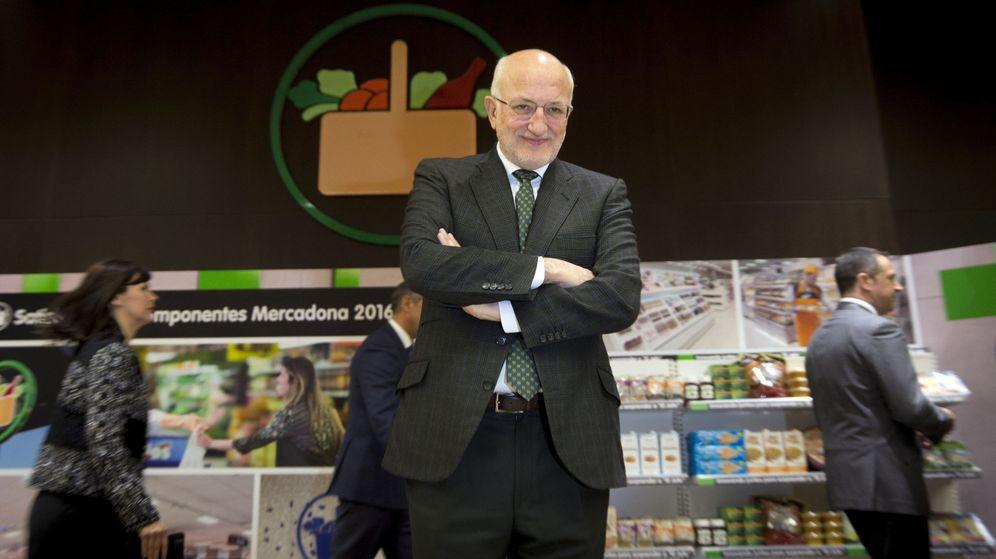Foto: Juan Roig en la presentación de resultados de 2016 de Mercadona. (EFE)