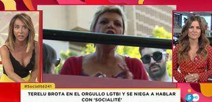 Post de El desprecio de Terelu Campos al programa de Patiño en Orgullo LGTBI