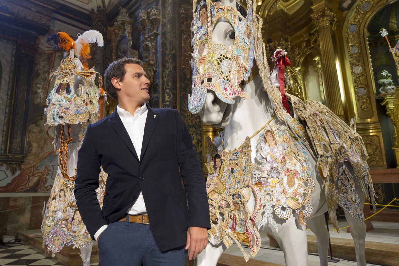 Foto: Albert Rivera, durante su visita ayer a Caravaca de la Cruz. (Marcial Guillén / Efe)