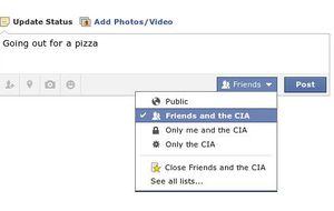 No hablo de mi vida privada, pero la comparto en Facebook
