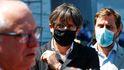 La rebaja de penas para la sedición en el Código Penal inquieta a Waterloo