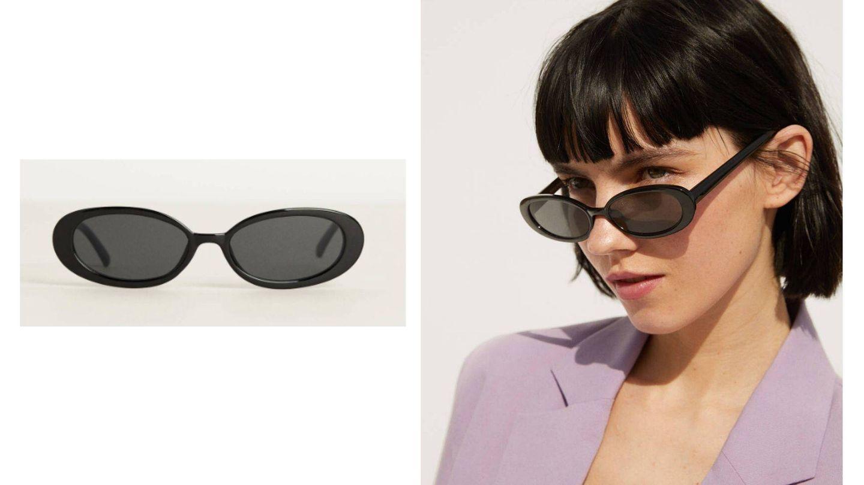 Gafas de sol ovaladas de Bershka (Cortesía)