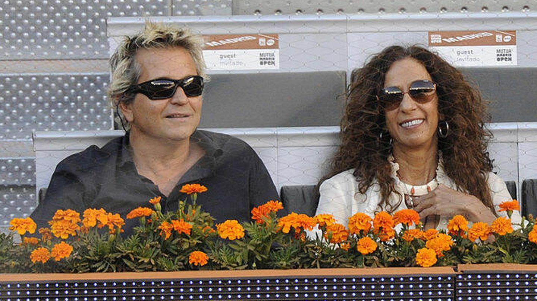 Rosario Flores y Pedro Lazaga, en una imagen de archivo. (Getty)
