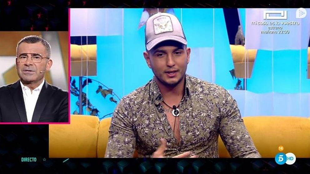 Omar Montes, nuevo concursante de 'GH VIP 6', rompe en directo con Chabelita