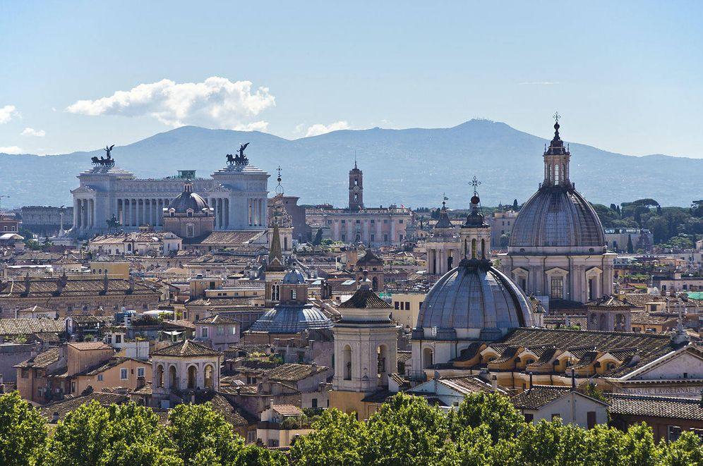 Foto: Vista de Roma. (Fuente: Wikimedia Commons)