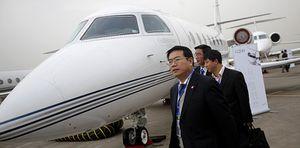 Foto: Qué pasaría si todos los chinos viajasen en avión
