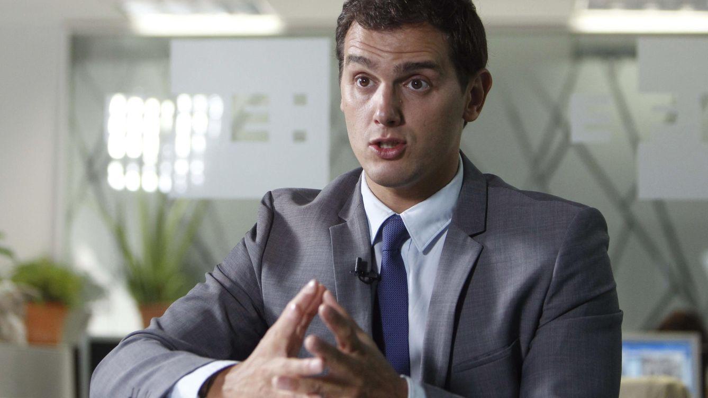 Rivera dice a Albiol que es Ciudadanos quien liderará la alternativa a la independentismo