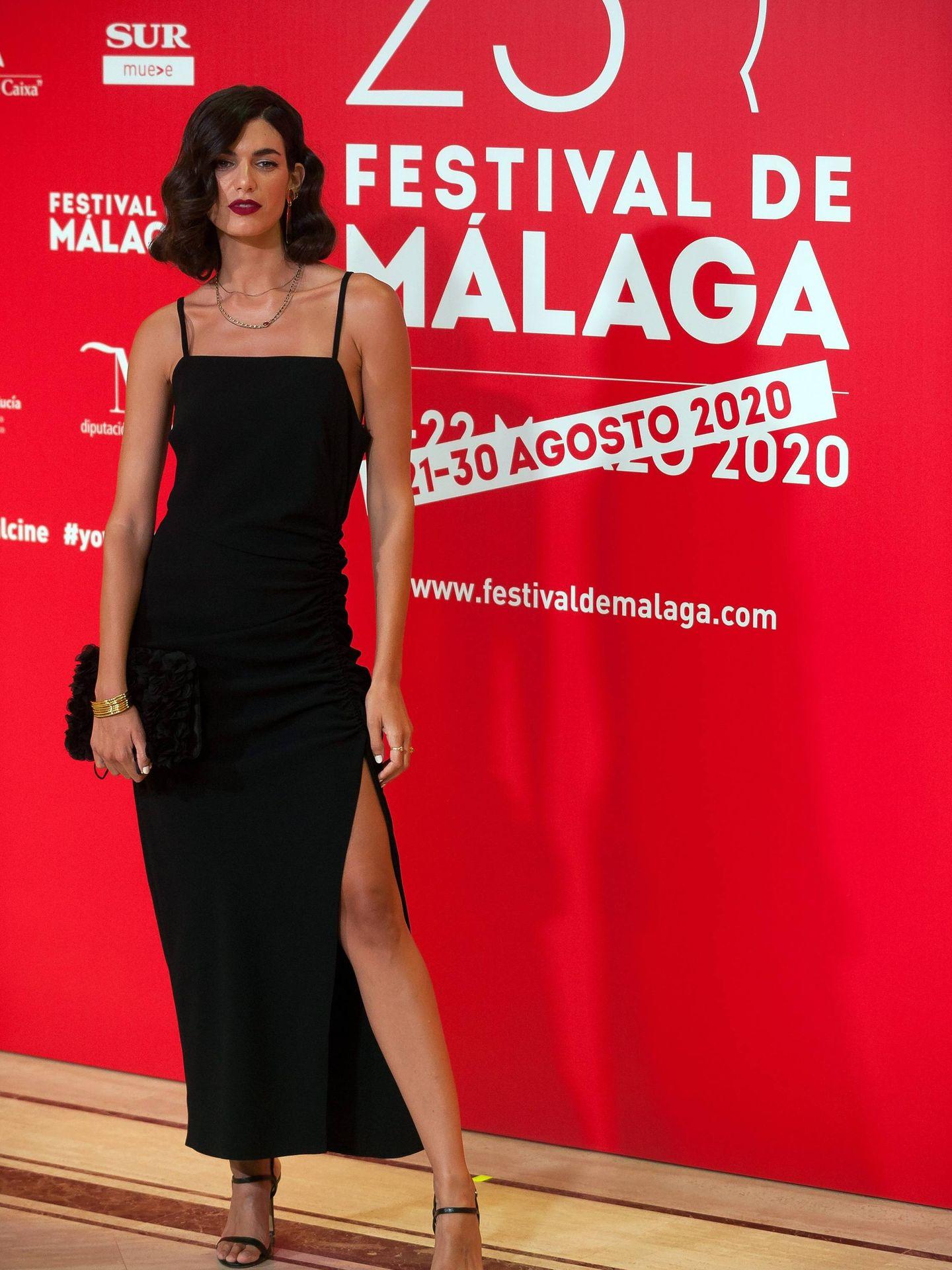 Nerea Barros, en el Festival de Cine de Málaga. (Cordon Press)