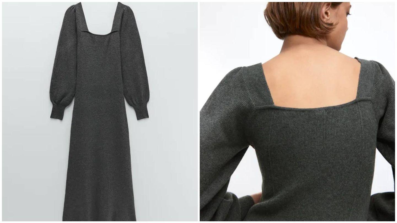 El vestido de Zara que ha lucido Sara Carbonero. (Cortesía)