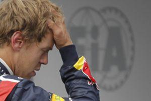 Vettel, molesto porque Webber le hizo perder tiempo en la Q3