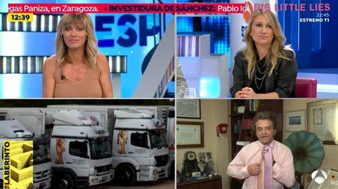 Desnudo en 'Espejo Público': un invitado se quita la camisa y deja a Griso ojiplática