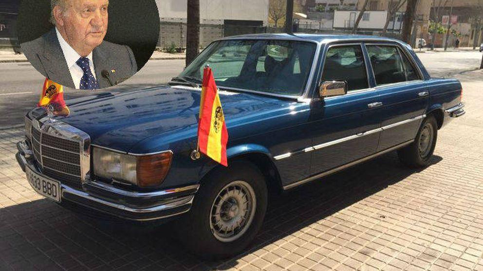 Azul, 8 cilindros y 225 caballos: así es el Mercedes del rey Juan Carlos que sale a subasta