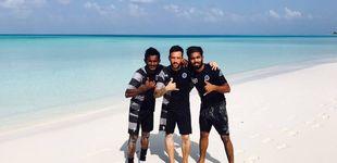 Post de ¿Cómo es posible vivir del fútbol en las Maldivas? El gol de Adrián Gallardo