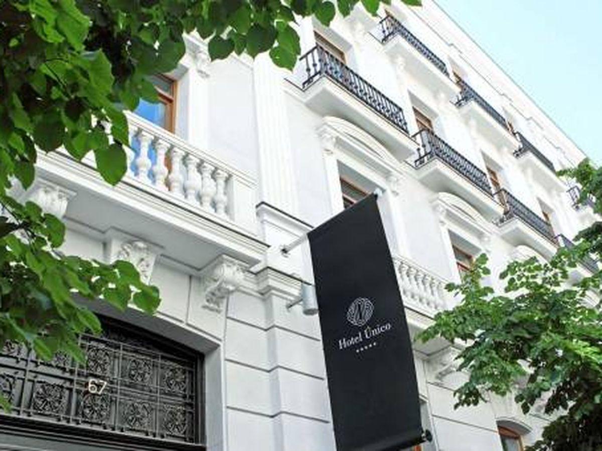 Foto: Hotel Único en el barrio de Salamanca de Madrid.