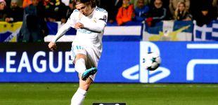 Post de El Real Madrid ve el camino cuando Modric enciende la luz