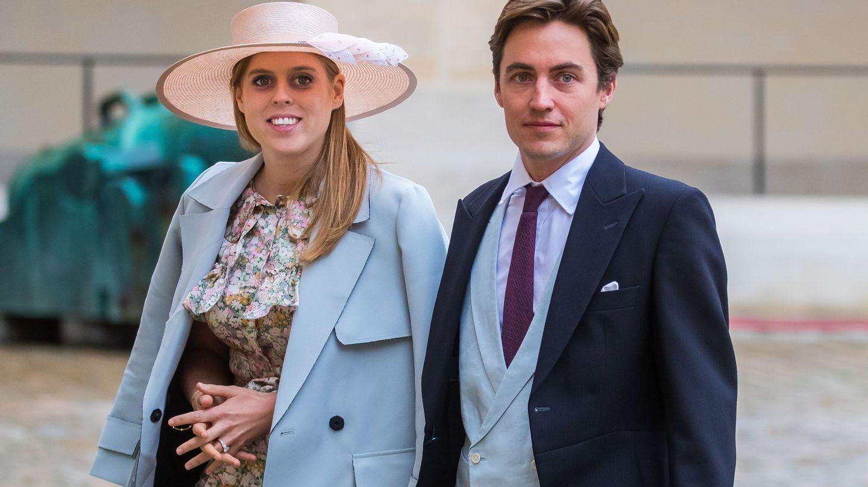 La princesa Beatriz y Edo Mapelli, en una imagen de archivo. (EFE)
