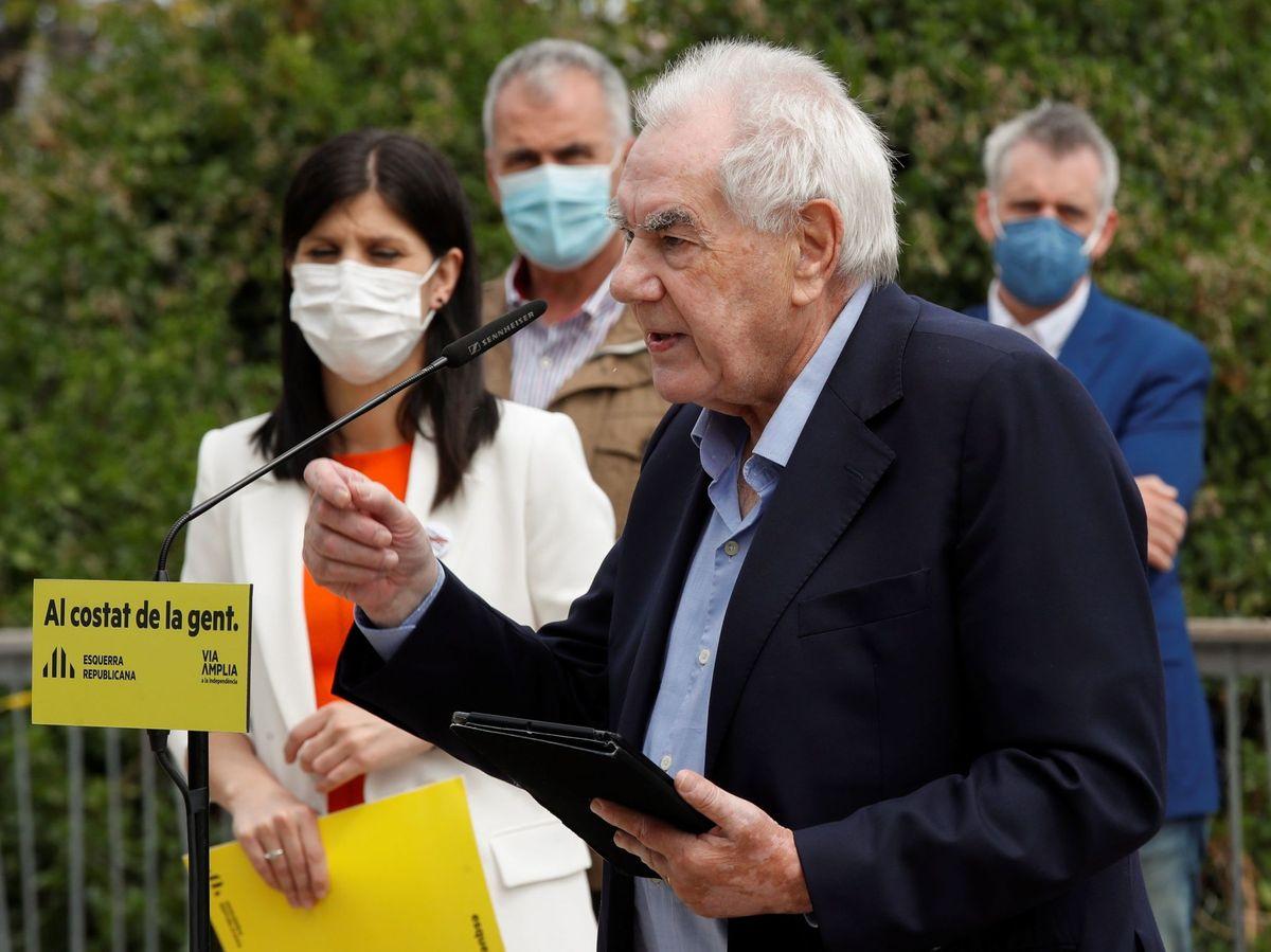 Foto: El líder de ERC en el Ayuntamiento de Barcelona, Ernest Maragall. (EFE)