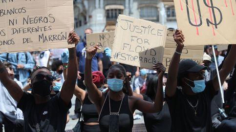 España sale a la calle contra el racismo con polémica por la distancia de seguridad