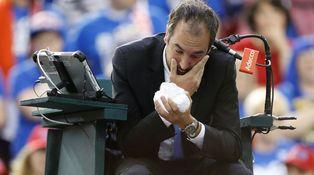 Los peligrosos arrebatos de enfado o frustración en el tenis, a debate