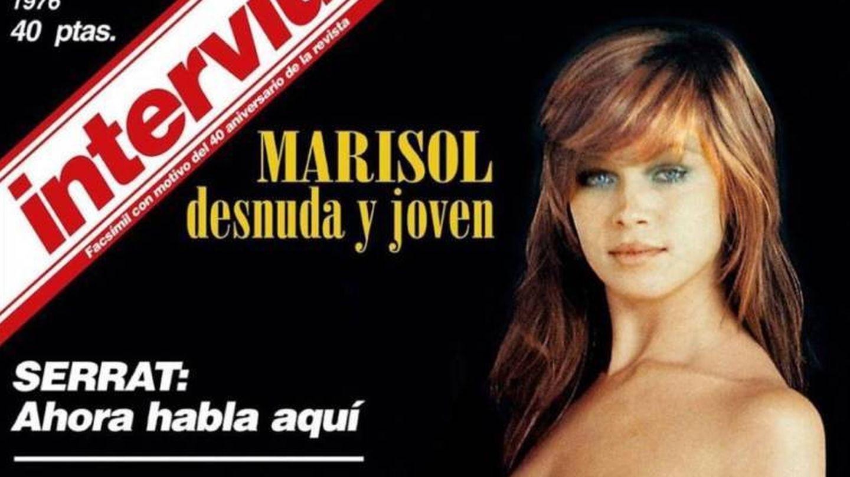 Marisol en la portada de 'Interviú'.