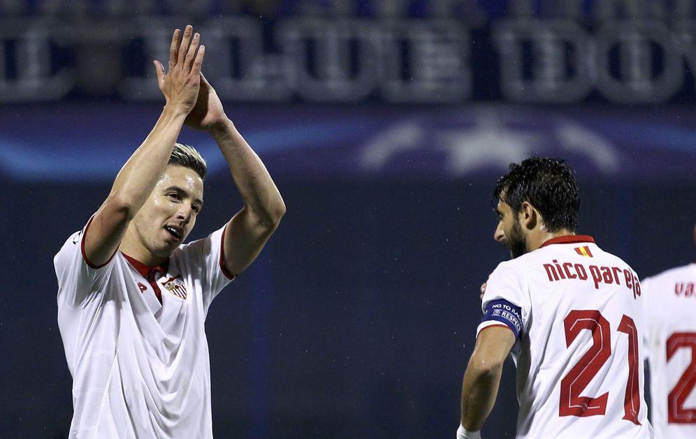 Foto: Nasri está completando una notable temporada a las órdenes de Jorge Sampaoli (Reuters)