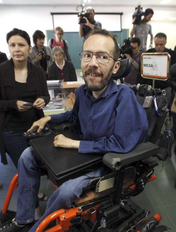 Pablo Echenique, candidato de Podemos en Aragón. (EFE)