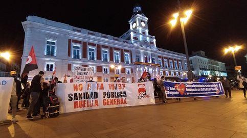 Centenares de personas marchan en Madrid contra la privatización de la sanidad