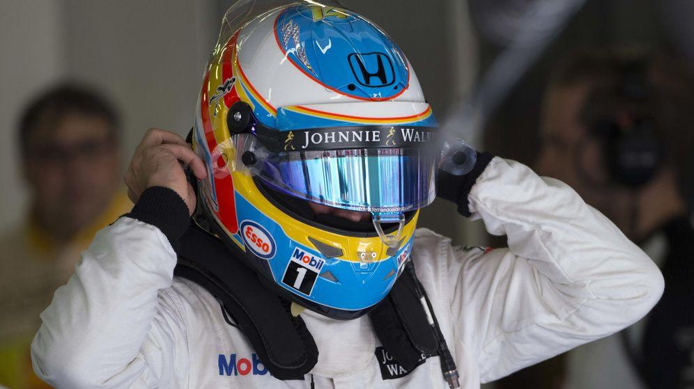 Foto: Fernando Alonso, el pasado fin de semana en el circuito de Montmeló.