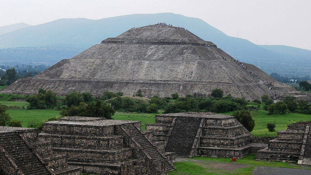 Foto: Imagen de archivo de la ciudad mexicana de Teotihuacán (EFE)