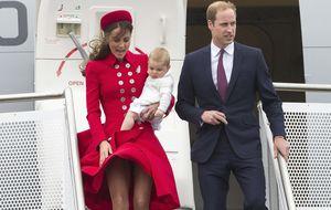 El príncipe Jorge, protagonista de la gira por Oceanía de Kate y Guillermo