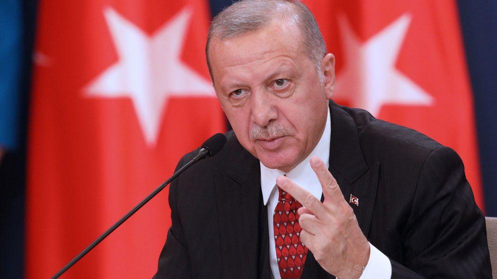 Foto: El presidente turco, Erdoga. (Reuters)