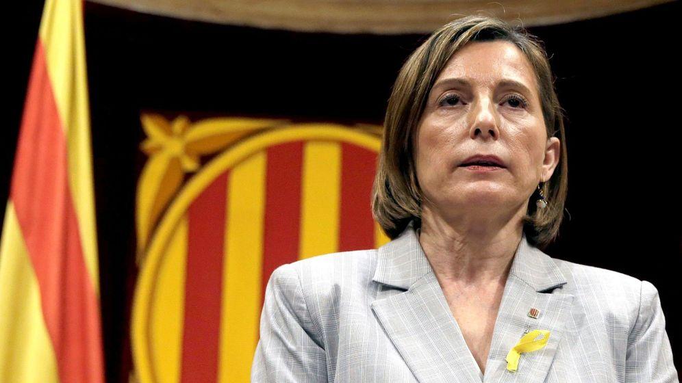 Foto: La presidenta de la cámara catalana, Carme Forcadell. (EFE)