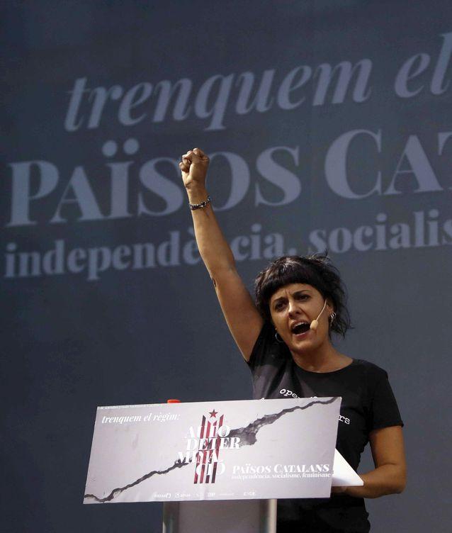 Anna Gabriel, de la CUP (EFE)