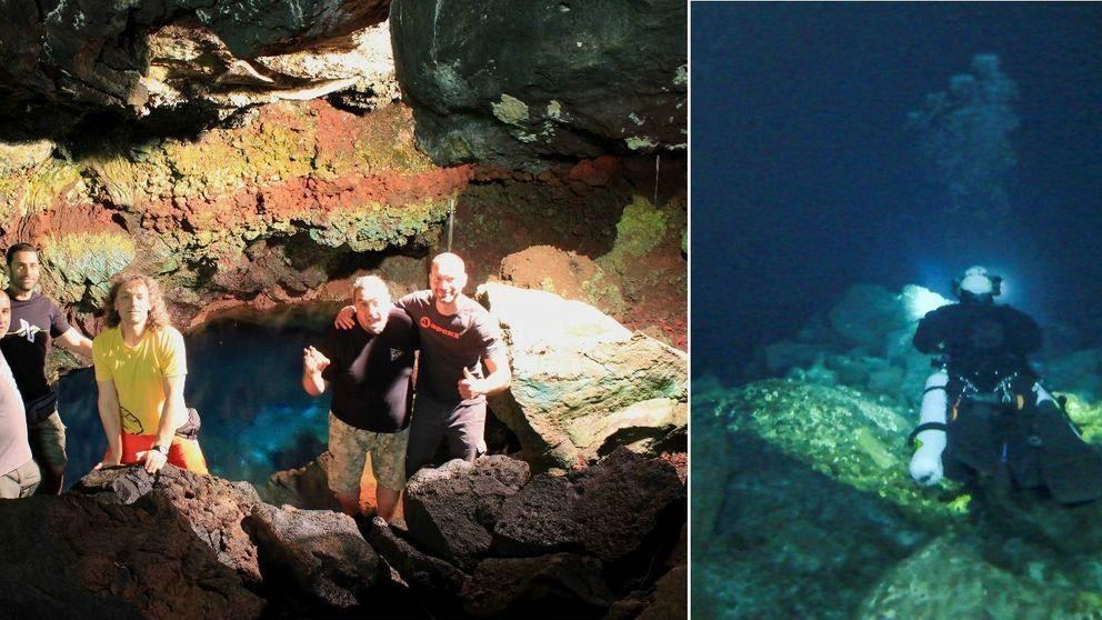 Científicos españoles estudian el final del misterioso Túnel de la Atlántida de Lanzarote