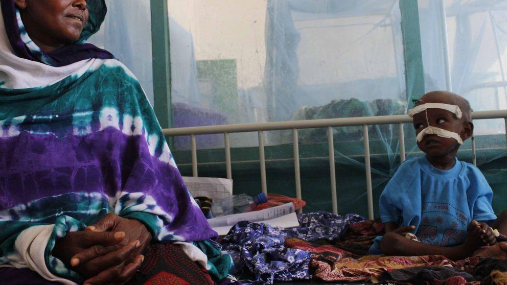 Esta mujer somalí ya ha enterrado a tres de sus hijos por la hambruna