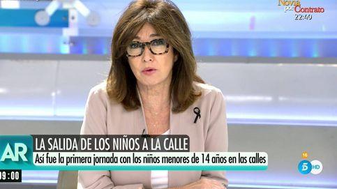 Ana Rosa vuelve a su programa y exige una mayor planificación al Gobierno