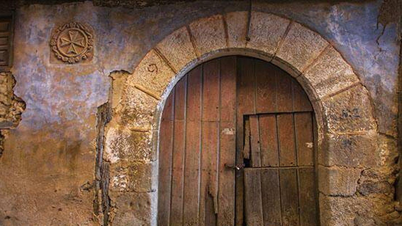Uno de los dos hospitales de los caballeros de Jerusalén de Miranda, que forma parte de los 40 palacios blasonados del pueblo (Fuente: Patrihum Casmi)