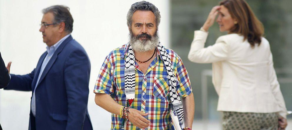 Foto: El dirigente del SAT Juan Manuel Sánchez Gordillo. (EFE)