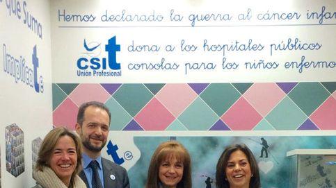 CSIT Unión Profesional dona 30 consolas para niños hospitalizados